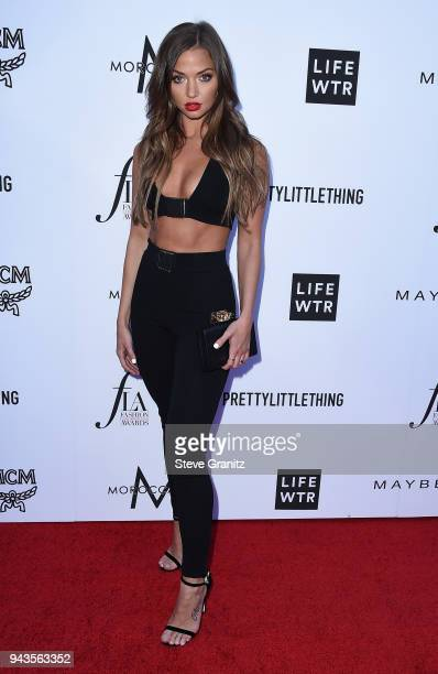 Erika Costell attends The Daily Front Row's 4th Annual Fashion Los Angeles Awards at Beverly Hills Hotel on April 8 2018 in Beverly Hills California