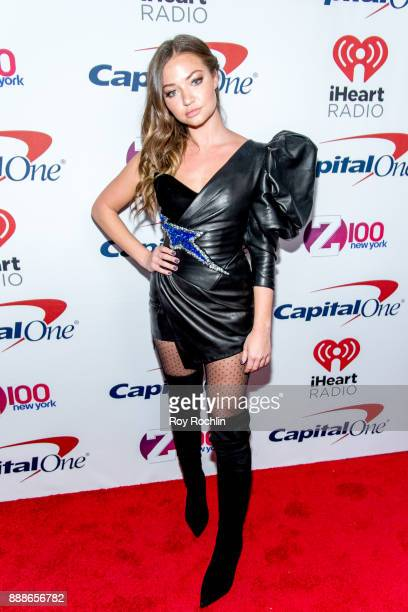 Erika Costell attends Z100's iHeartRadio Jingle Ball 2017 at Madison Square Garden on December 8 2017 in New York City