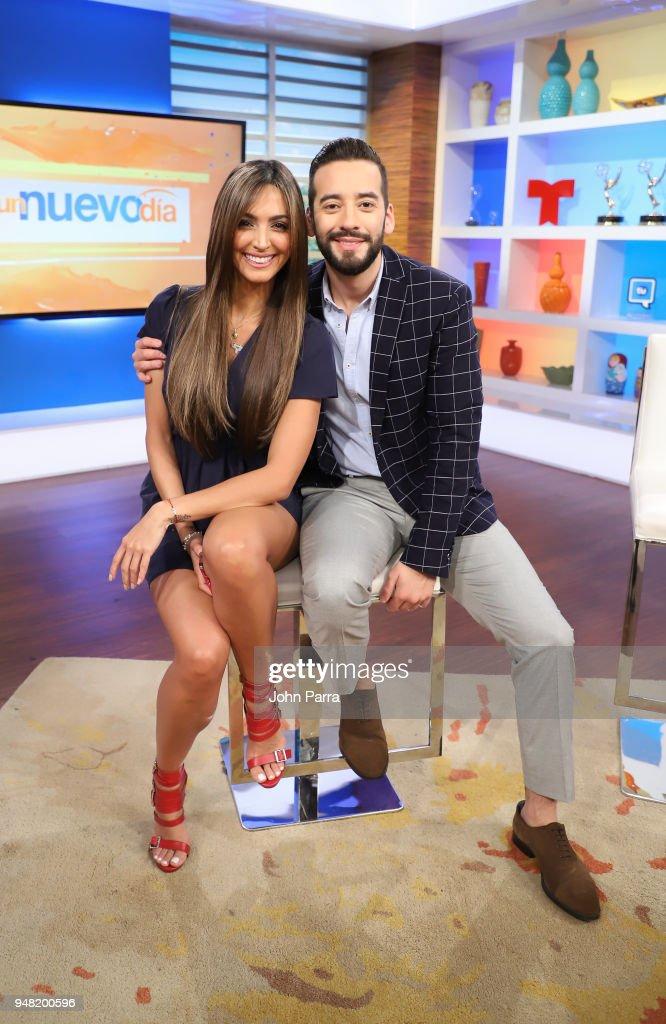 "Celebrities Visit Telemundo's ""Un Nuevo Dia"" : News Photo"