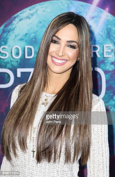 Erika Csiszer attends Miami Premiere of SEP7IMO DIA No Descansare by Cirque du Soleil at Watsco Center on April 18 2018 in Coral Gables Florida