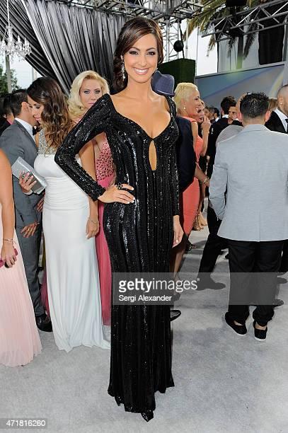 "Erika Csiszer attends the 2015 Billboard Latin Music Awards ""Premios Billboard"" at BankUnited Center on April 30, 2015 in Miami, Florida."