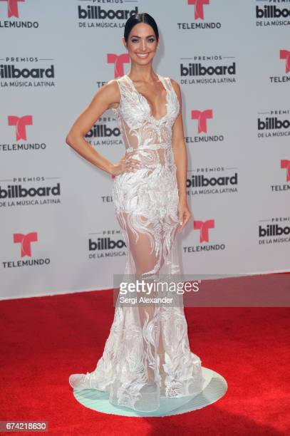Erika Csiszer attends the Billboard Latin Music Awards at Watsco Center on April 27 2017 in Coral Gables Florida