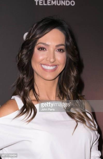 "Erika Csiszer attends the Telemundo Premiere Of ""Guerra De Idolos""at The Temple House on April 20, 2017 in Miami Beach, Florida."