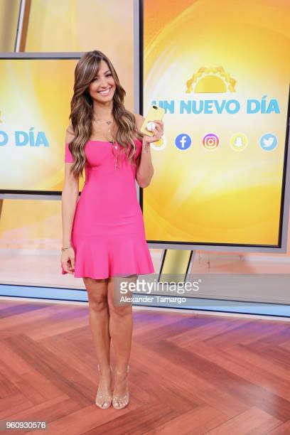 Erika Csiszer on the new set of Un Nuevo Dia at Telemundo Center on May 21 2018 in Doral Florida