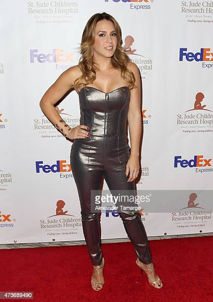 Erika De La Vega arrives at the 13th Annual St Jude Angels and Stars Gala on May 16 2015 in Miami Florida