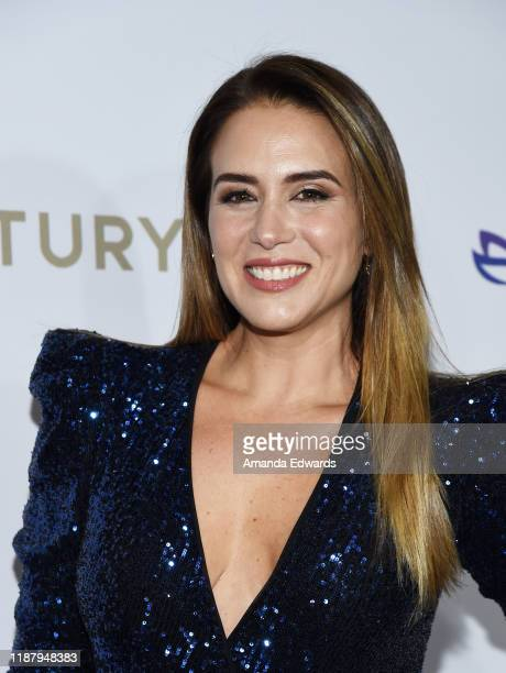 Erika de la Vega arrives at The Eva Longoria Foundation Gala at the Four Seasons Los Angeles at Beverly Hills on November 15 2019 in Los Angeles...