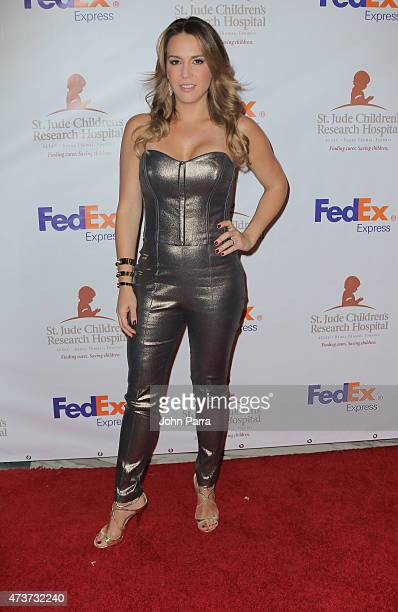Erika De La Vega attends the 13th Annual FedEx/St Jude Angels and Stars Gala at JW Marriott Marquis on May 16 2015 in Miami Florida
