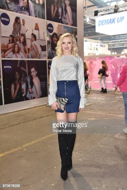 Erika Dorodnova attends the GLOW The Beauty Convention at Station on November 5 2017 in Berlin Germany