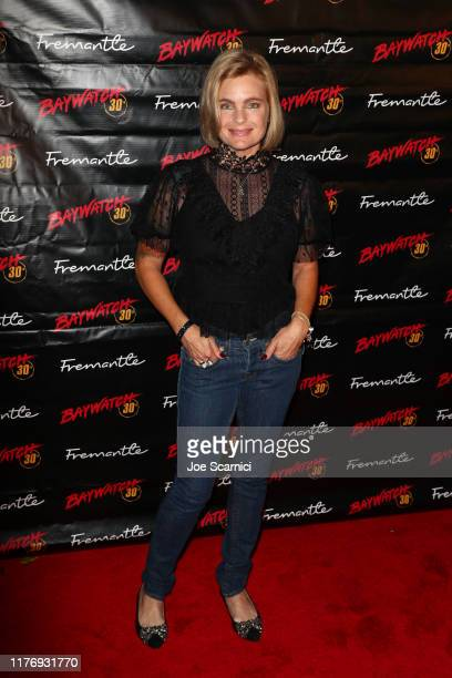 Erika Eleniak arrives at the 30th Anniversary Of Baywatchˆ at the Viceroy Hotel on September 24 2019 in Santa Monica California