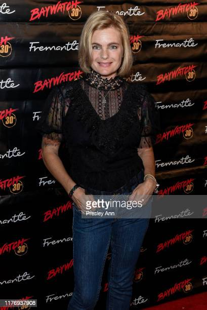 Erika Eleniak attends 30th Anniversary of Baywatch at the Viceroy Hotel on September 24 2019 in Santa Monica California