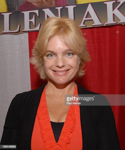 Erika Eleniak attends Motor City Comic Con at Suburban Collection Showplace on May 18 2013 in Novi Michigan