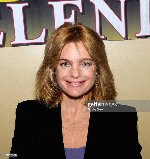 Erika Eleniak attends the 2012 Chiller Theatre expo at the Parsippany Hilton on April 28 2012 in Parsippany City