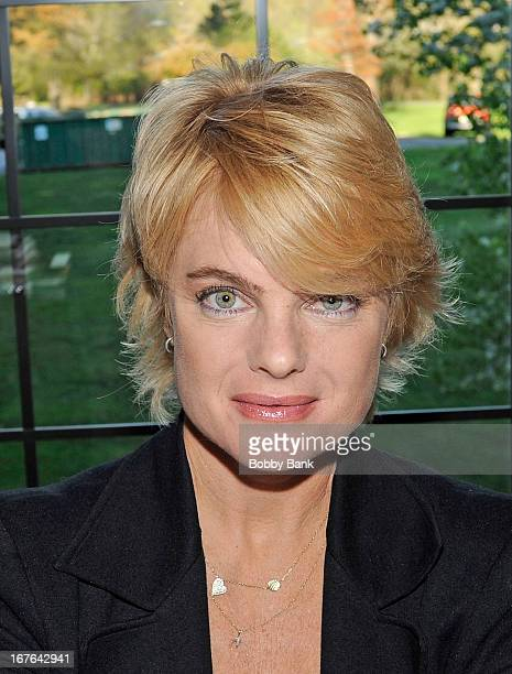 Erika Eleniak attends the 2013 Chiller Theatre Expo at Sheraton Parsippany Hotel on April 26 2013 in Parsippany New Jersey