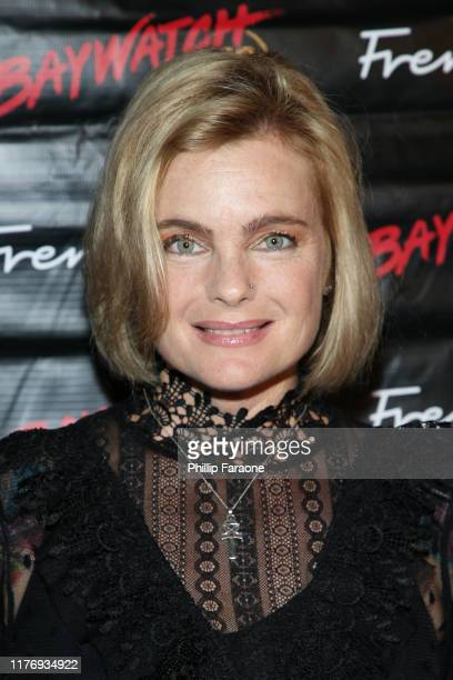 Erika Eleniak attends the 30th anniversary of Baywatch at the Viceroy Hotel on September 24 2019 in Santa Monica California