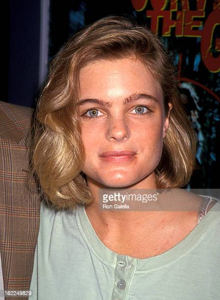 Erika Eleniak attends Video Software Dealers Association Convention on July 25 1994 at Las Vegas Convention Center in Las Vegas Nevada