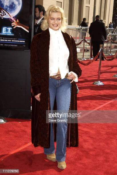 Erika Eleniak during 20th Anniversary Premiere of Steven Spielberg's ET The ExtraTerrestrial Arrivals at The Shrine Auditorium in Los Angeles...