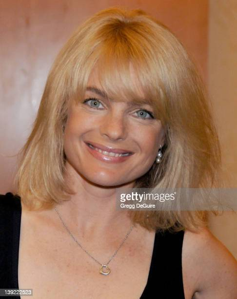 Erika Eleniak poses at the The Hollywood Collectors Celebrities Show at the Burbank Airport Marriott Hotel Convention Center in Burbank California on...