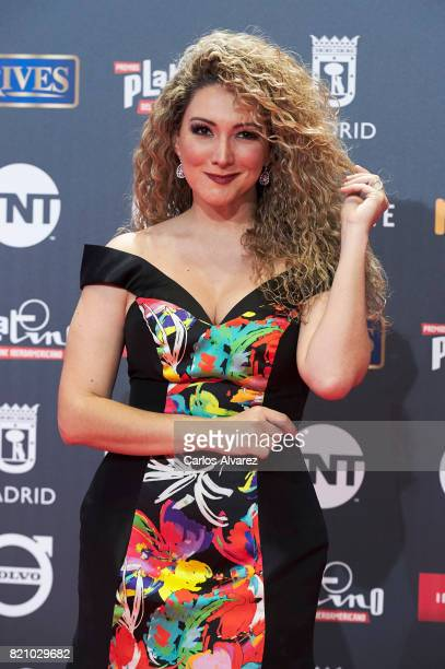 Erika Ender attends the Platino Awards 2017 photocall at the La Caja Magica on July 22 2017 in Madrid Spain