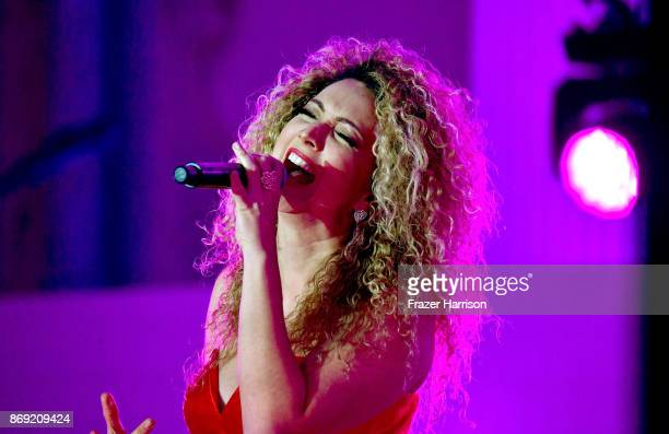 Erika Ender performs onstage during Spotify's Inaugural Secret Genius Awards hosted by Lizzo at Vibiana on November 1 2017 in Los Angeles California