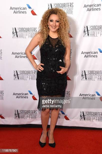 Erika Enders attends the 2019 Songwriters Hall Of Fame at The New York Marriott Marquis on June 13 2019 in New York City