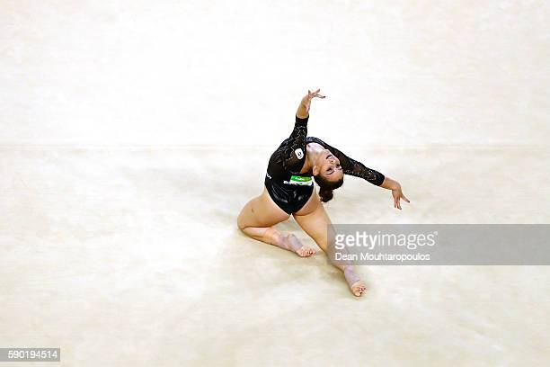 Erika Fasana of Italy competes on the Women's Floor final on Day 11 of the Rio 2016 Olympic Games at the Rio Olympic Arena on August 16 2016 in Rio...