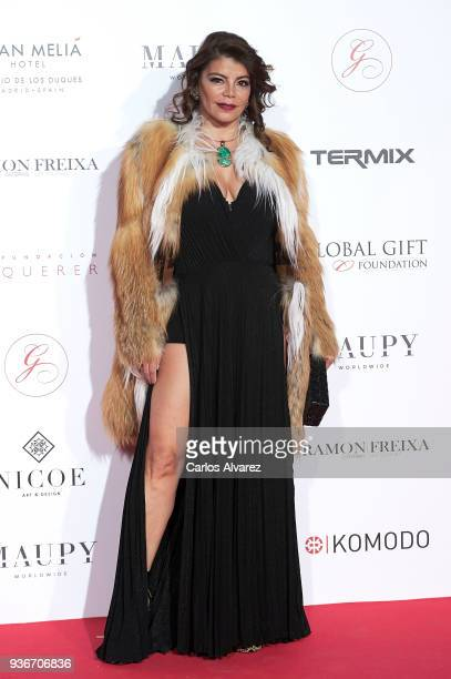 Erika Garcia attends The Global Gift Gala at the ThyssenBornemisza museum on March 22 2018 in Madrid Spain