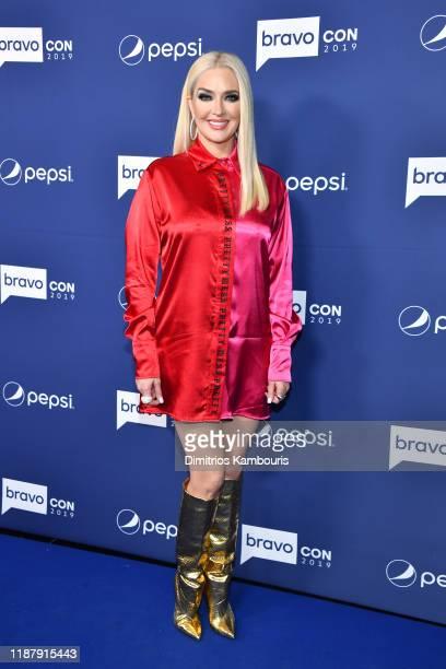 Erika Girardi attends the opening night of 2019 BravoCon at Hammerstein Ballroom on November 15 2019 in New York City