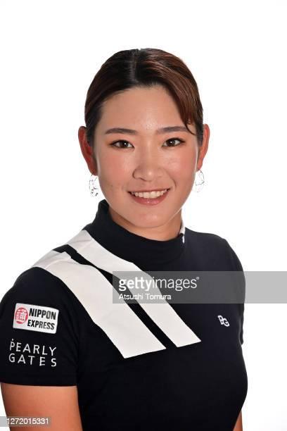 Erika Hara of Japan poses during the JLPGA portrait session on September 8 2020 in Kasaoka Okayama Japan