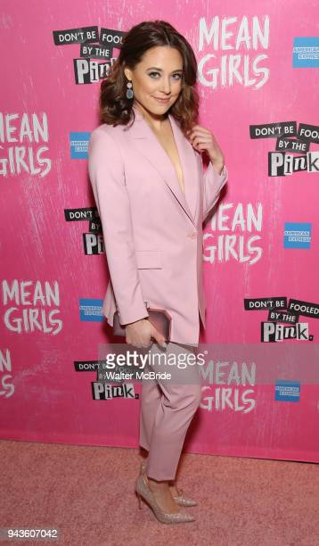 Erika Henningsen attends the Broadway Opening Night After Party for 'Mean Girls' at Tao on April 8 2018 in New York City