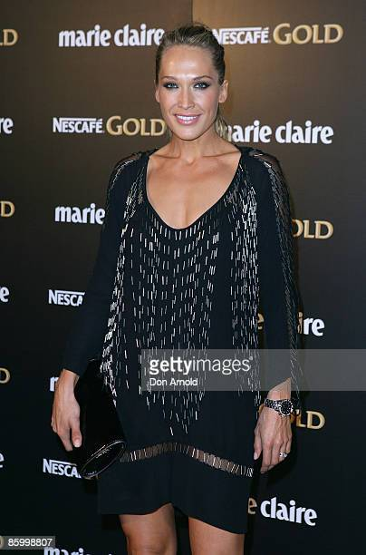 Erika Heynatz arrives for the 2009 Prix de Marie Claire Awards at the Royal Hall of Industries on April 16 2009 in Sydney Australia