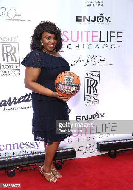 Erika Janee Jordan attends Suite Life Welcome The BIG 3 NBA Veterans To Chicago at Perillo Rolls Royce on June 28 2018 in Chicago Illinois