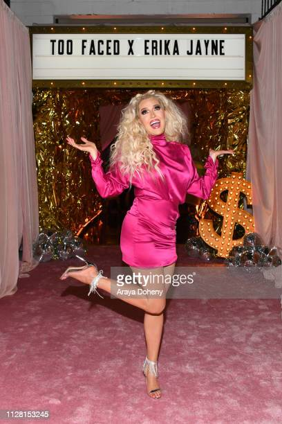 Erika Jayne at the Too Faced X Erika Jane Launch The Pretty Mess Collection on February 07 2019 in West Hollywood California