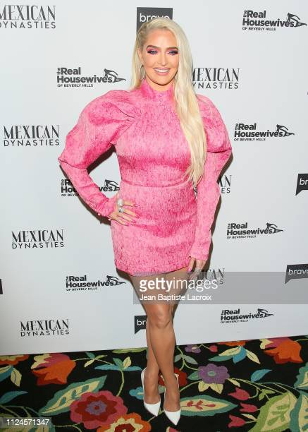 Erika Jayne attends Bravo's Premiere Party For 'The Real Housewives Of Beverly Hills' Season 9 And 'Mexican Dynasties'at Gracias Madre on February 12...