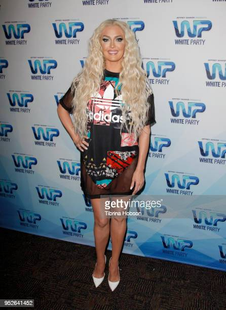 Erika Jayne attends Jeffrey Sanker's 2018 White Party on April 28 2018 in Palm Springs California