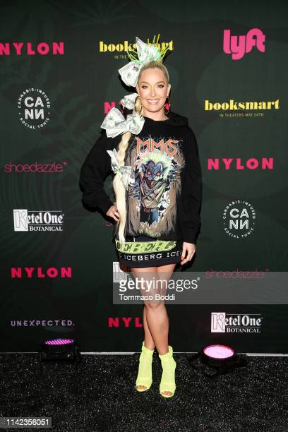 Erika Jayne attends NYLON's Midnight Garden Party At Coachella Presented By Ketel One Botanical on April 12 2019 in Bermuda Dunes California