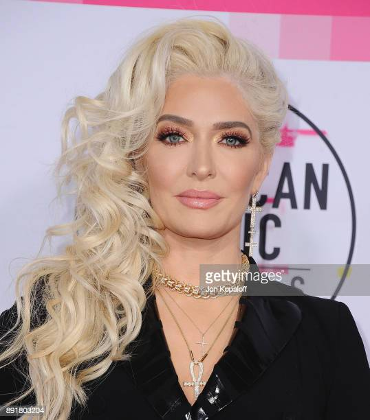 Erika Jayne attends the 2017 American Music Awards at Microsoft Theater on November 19 2017 in Los Angeles California