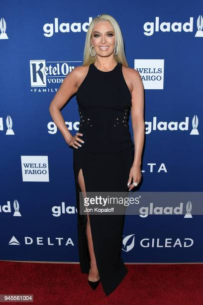 Erika Jayne attends the 29th Annual GLAAD Media Awards at The Beverly Hilton Hotel on April 12 2018 in Beverly Hills California