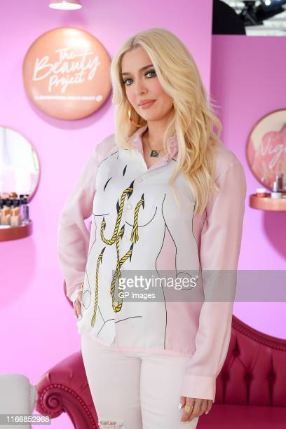 Erika Jayne attends The Beauty Project by Shoppers Drug Mart launch held at The Beauty Project PopUp on August 08 2019 in Toronto Canada