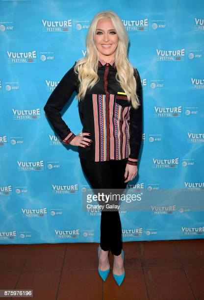 Erika Jayne attends the 'It's XXPensive to Be Erika Jayne' event part of Vulture Festival LA Presented by ATT at Hollywood Roosevelt Hotel on...
