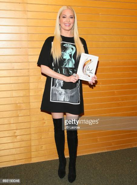 Erika Jayne attends the Jack Ketsoyan and Kevin Dickson book signing for 'Blind Item' on June 06 2017 in Santa Monica California