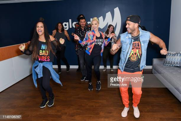 Erika Jayne surprises GLAAD offices in Los Angeles to recognize hard work and commitment of staff and volunteers at GLAAD Los Angeles on April 25...