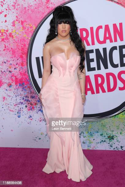Erika La Pearl attends 2019 American Influencer Awards at Dolby Theatre on November 18 2019 in Hollywood California