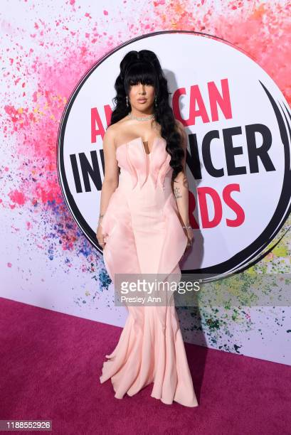Erika La Pearl attends the 2nd Annual American Influencer Awards at Dolby Theatre on November 18 2019 in Hollywood California