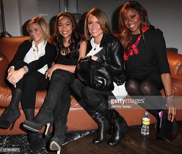 Erika Liles Valeisha Butterfield Angie Martinez and Midwin Charles attend the WEEN Academy auditions at Terminal 5 on March 12 2011 in New York City