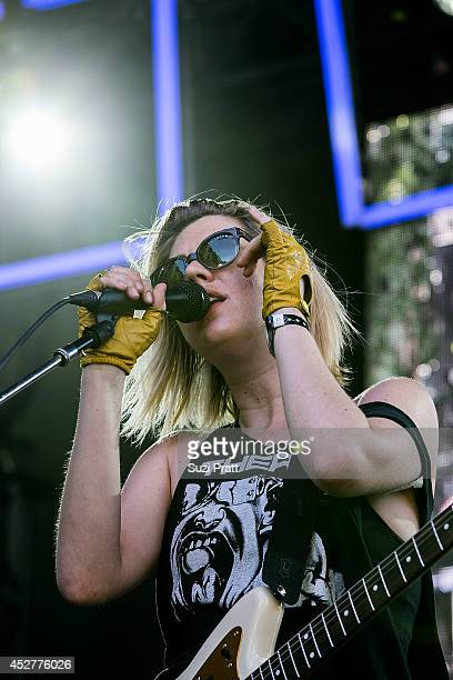 Erika M Anderson performs at the Capitol Hill Block Party on July 26 2014 in Seattle Washington