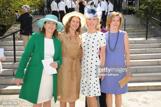 Erika Matt Andrea Hagan Martha Glass and Elizabeth Miller at 36th Annual Frederick Law Olmsted Awards Luncheon Central Park Conservancy at The...