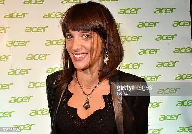 Erika Moulet attends the Acer 40th Anniversary at Musee Des Arts Forains on September 20 2016 in Paris France