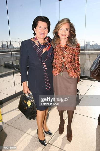 Erika Neukirchen And Ann Katrin Bauknecht When DKMS Life Charity Lunch In Berlin On 191005