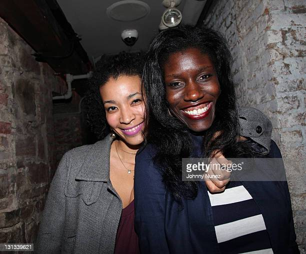 Erika Priestley and Bozoma Saint John attend the ASCAP Mixer for the EMI Urban Writers Conference at Bar 675 on April 11 2011 in New York City