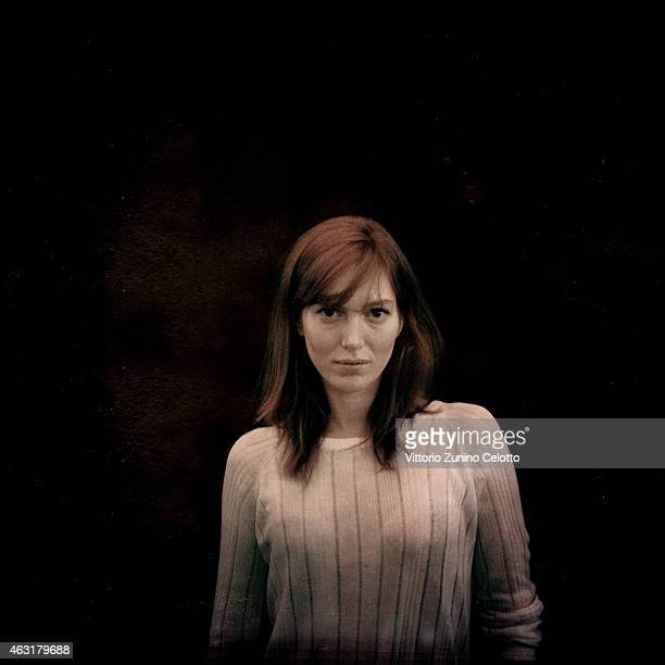 Erika Sainte poses during the 65th Berlinale International Film Festival on February 7 2015 in Berlin Germany